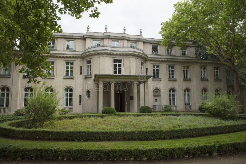 Wannsee, Βερολίνο, Γερμανία  Στις 23 Αυγούστου 2018  Βίλα Wannsee στοκ φωτογραφία