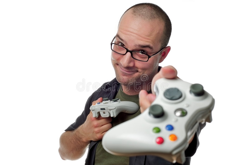 Want to play? royalty free stock image