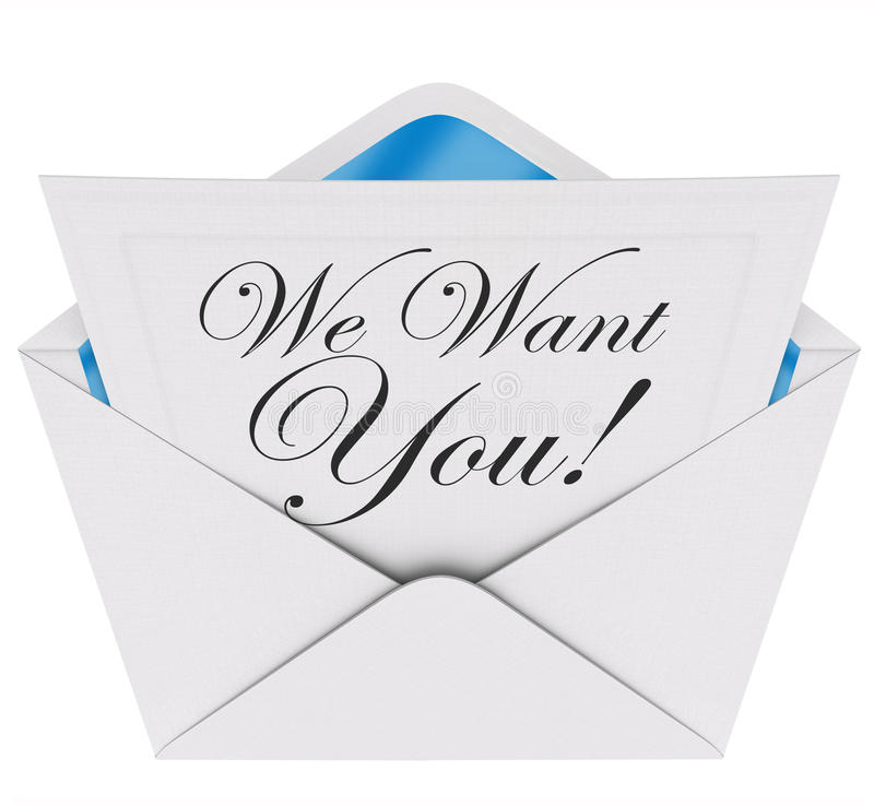 We want you invitation letter envelope need your participation j download we want you invitation letter envelope need your participation j stock illustration image stopboris Image collections