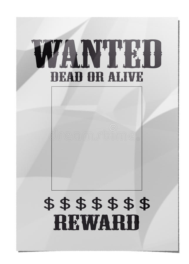Download Wanted Poster Royalty Free Stock Image - Image: 20834696