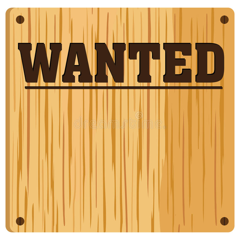 Download Wanted Poster stock vector. Illustration of criminal - 23778089
