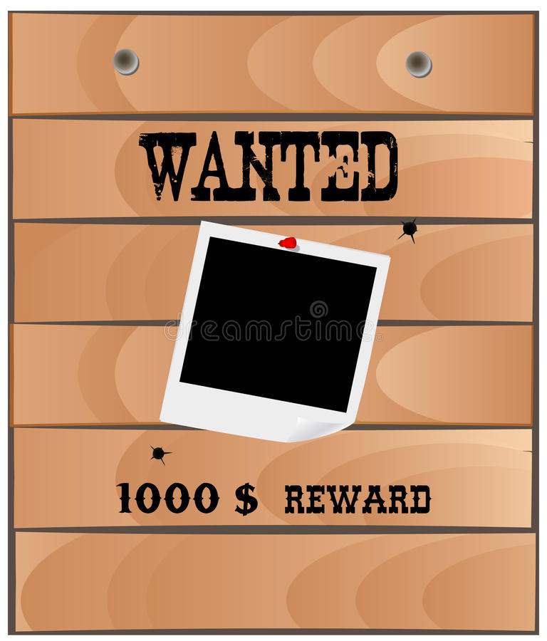 Download Wanted poster stock vector. Illustration of illustration - 27674393