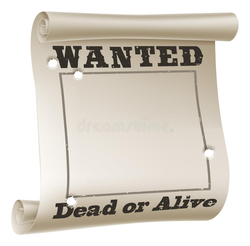 Download Wanted Poster Stock Photography - Image: 28376742