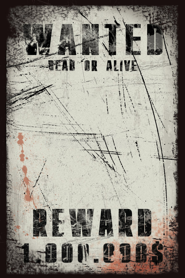 Download Wanted Poster Stock Photography - Image: 4219172