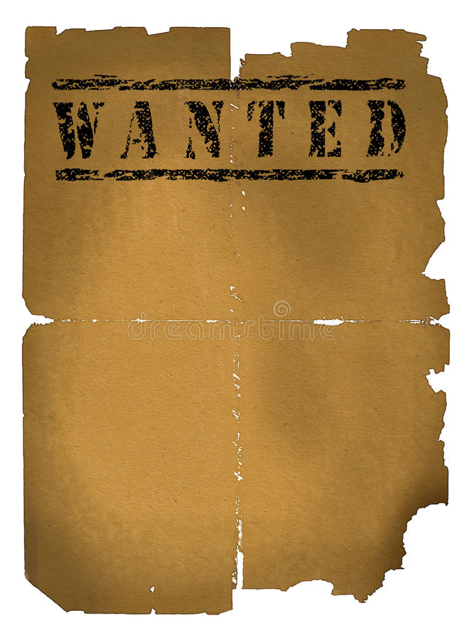Download Wanted xxlarge stock illustration. Illustration of bonus - 10030300