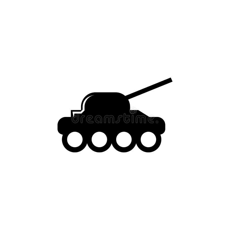 wapen, tankpictogram Element van militaire illustratie Tekens en symbolenpictogram voor websites, Webontwerp, mobiele toepassing vector illustratie