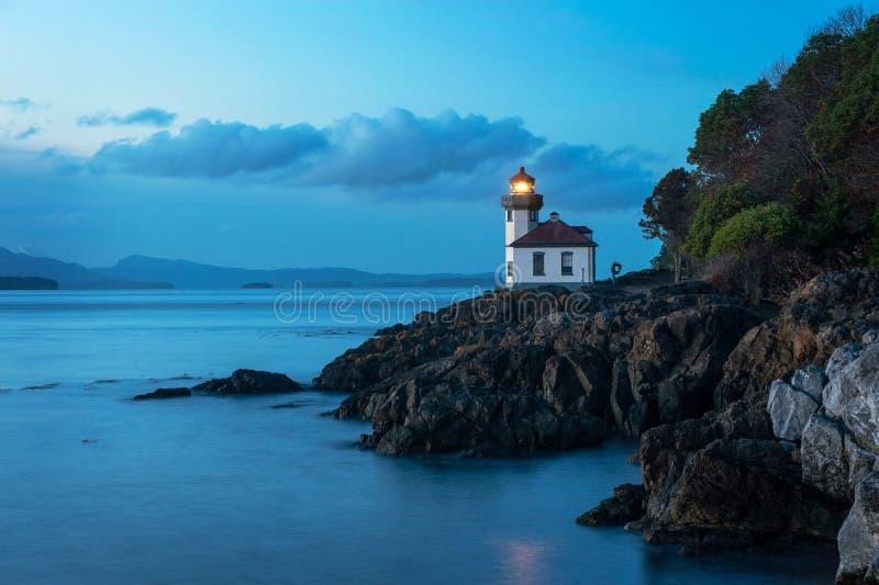 Wapna Kiln latarnia morska obrazy stock