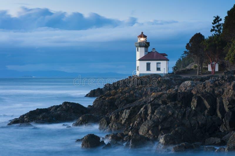 Wapna Kiln latarnia morska zdjęcie royalty free