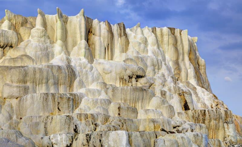 Wapnia wzgórze Egerszalok zdjęcie stock