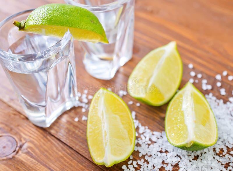Wapno i tequila zdjęcie royalty free