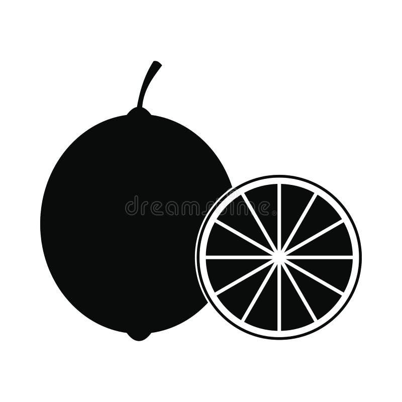 Wapno ikona, prosty styl ilustracji