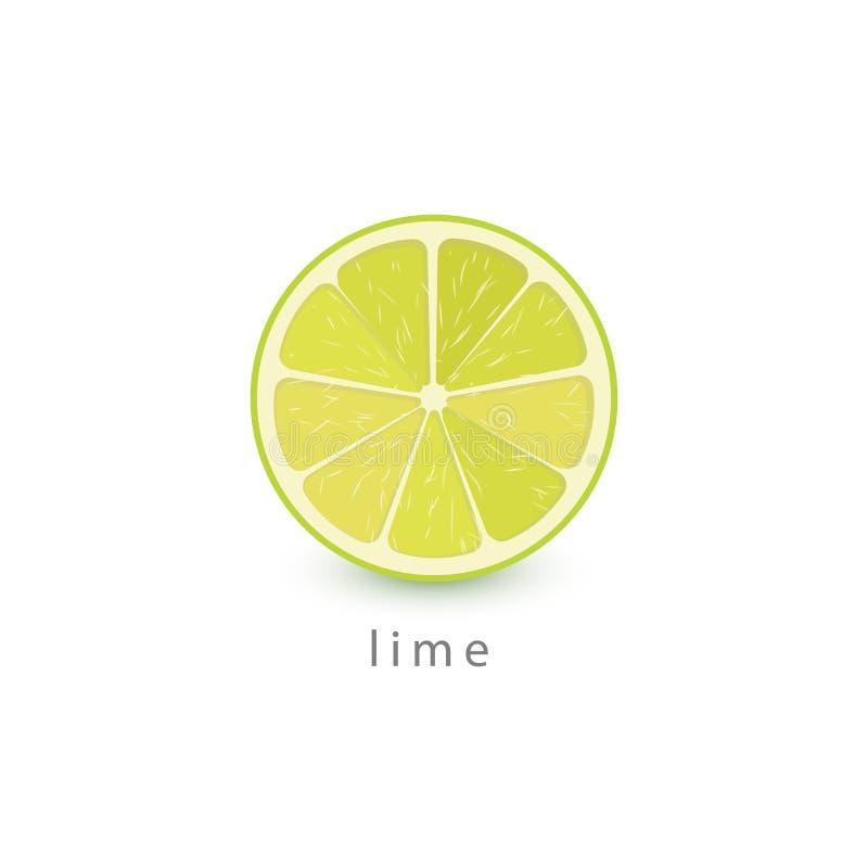 Wapno prosta ikona Weganinu loga szablon Minimalizm stylowa wektorowa ilustracja na białym tle ilustracji