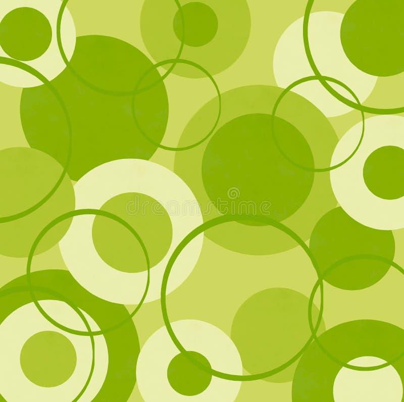 Wapno zieleni okręgi zdjęcia royalty free