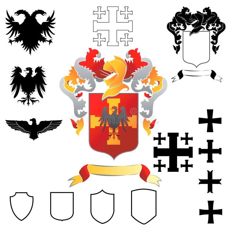 Wappen 02 vektor abbildung