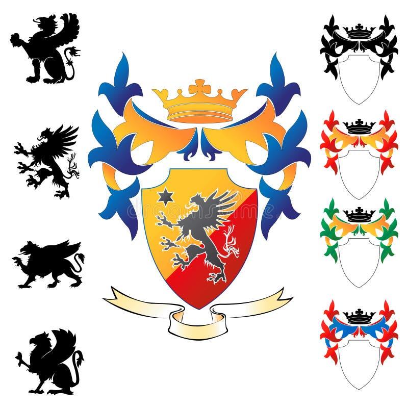 Wappen 03 vektor abbildung