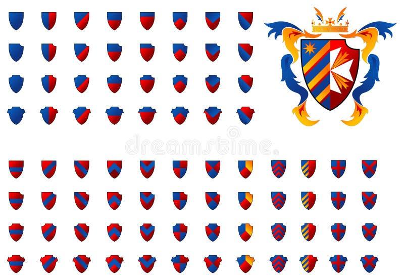 Wappen 06 vektor abbildung