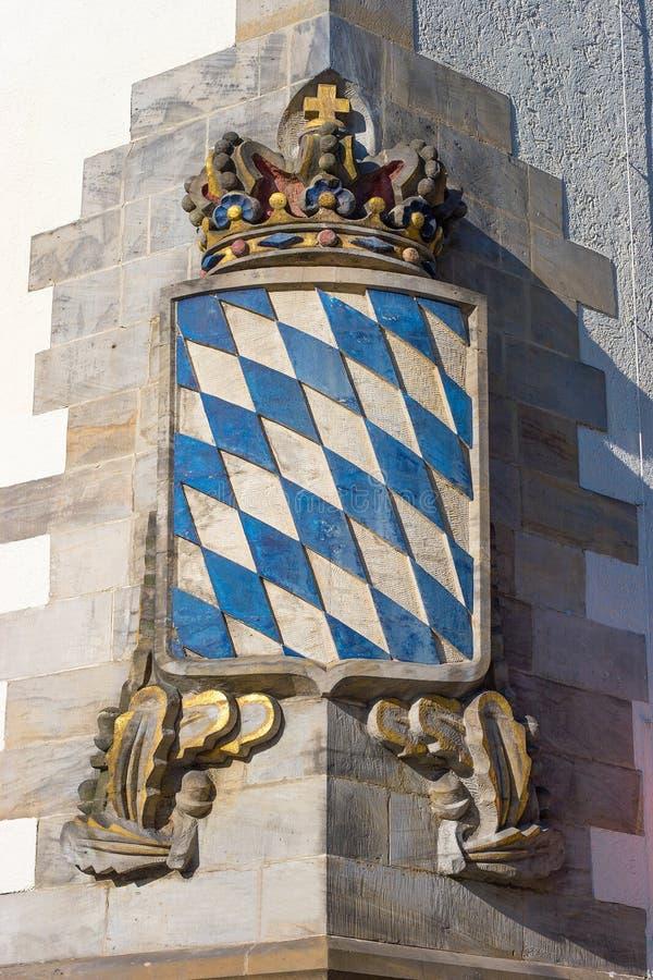 Wappen von Bayern stockbilder