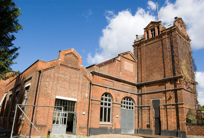 Wapping Hydraulic Power Station royalty free stock photo