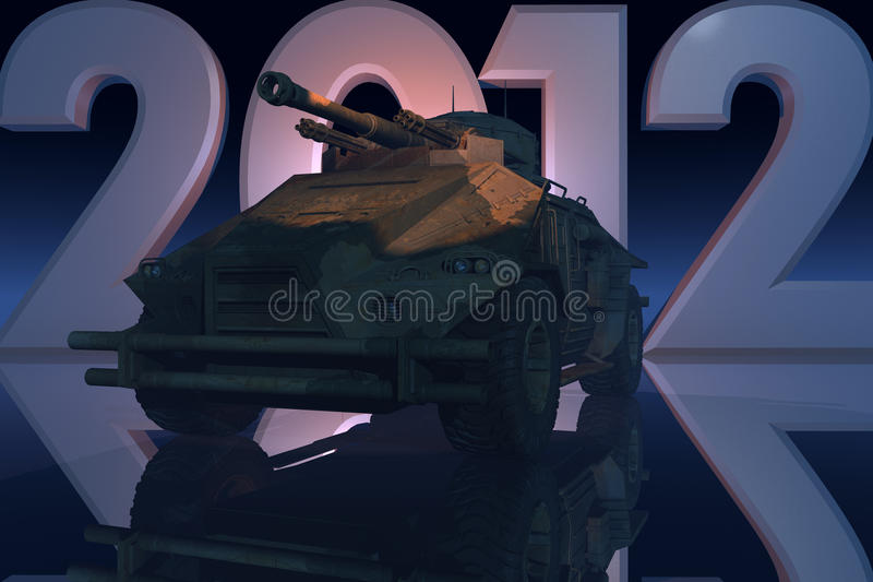 Download War 2012 Concept Royalty Free Stock Photos - Image: 22670038
