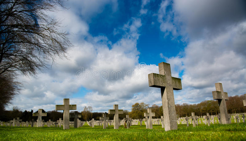 War cemetery stock images