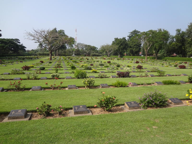 War Cemetery 6 royalty free stock photography