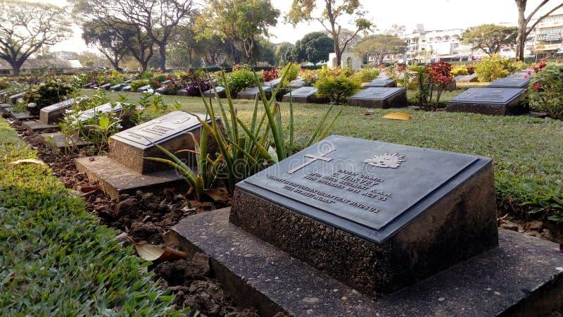 War cemetery stock photos