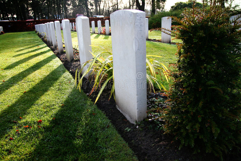 War graves royalty free stock image