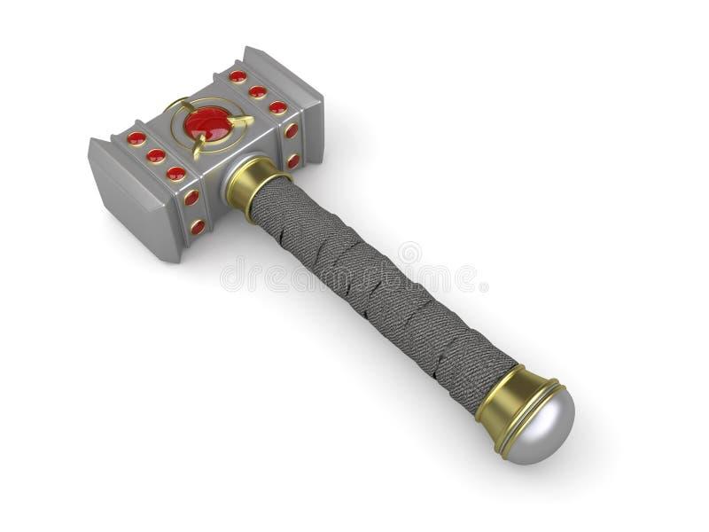 War hammer stock illustration