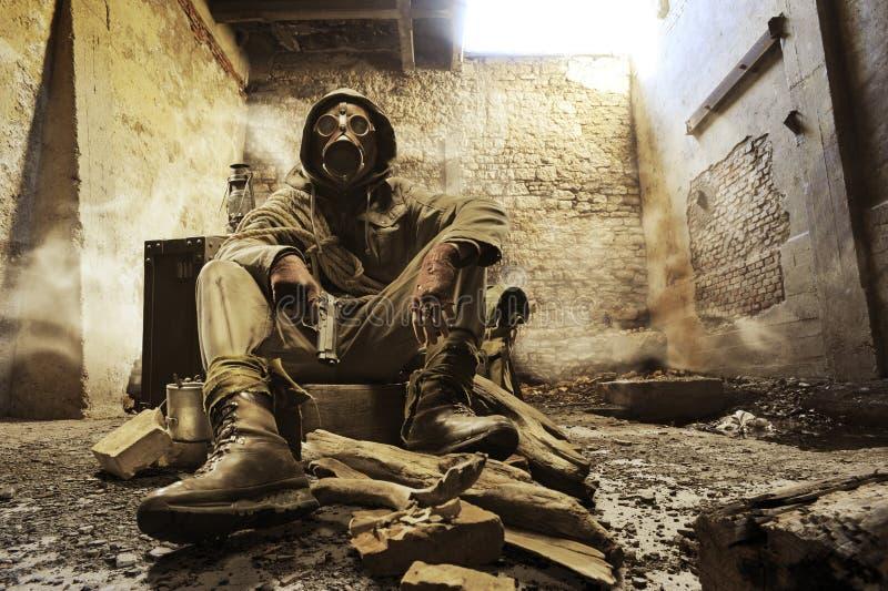 War hero royalty free stock photography