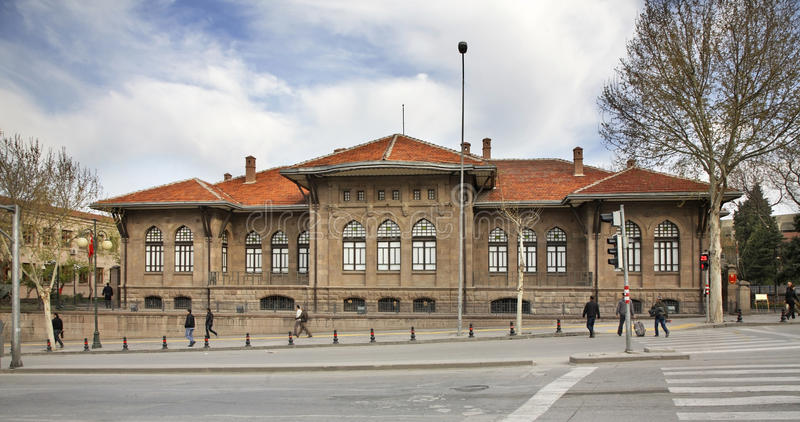 War of Independence Museum in Ankara. Turkey.  stock photography