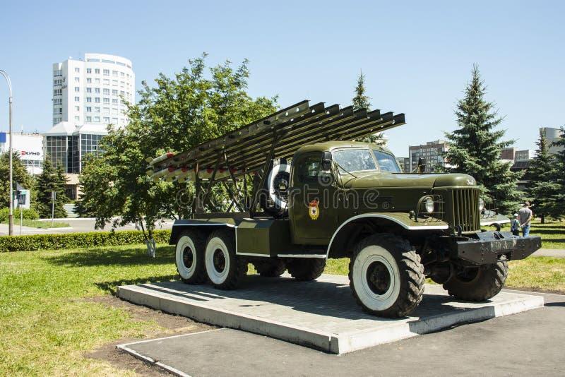 War machine Katyusha stock photography
