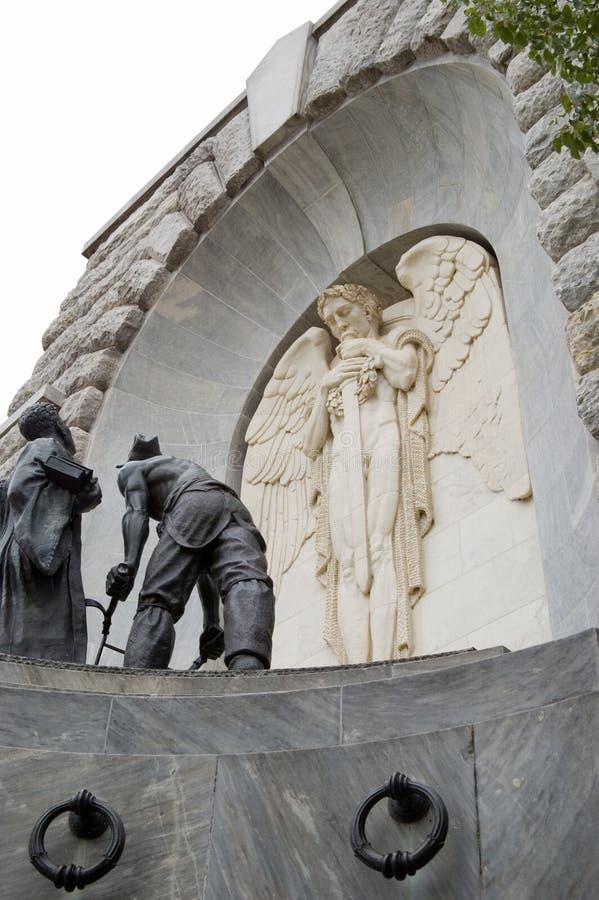 War Memorial. A war memorial stock image