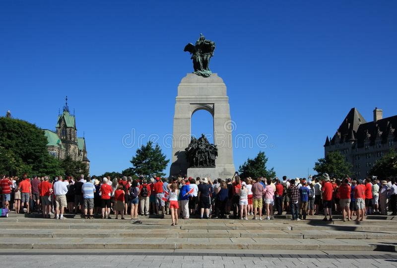 Download War Memorial Canada Day Morning Editorial Photography - Image: 21291707