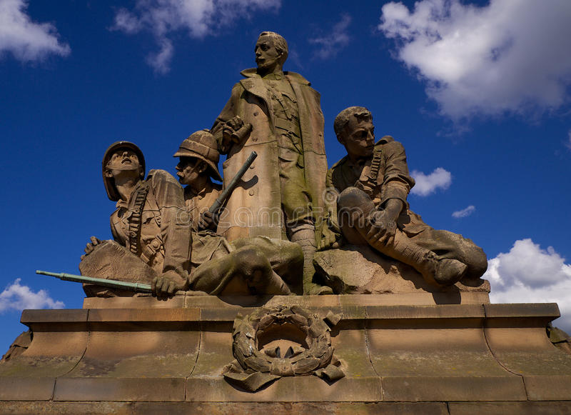 War Memorial - Edinburgh stock image
