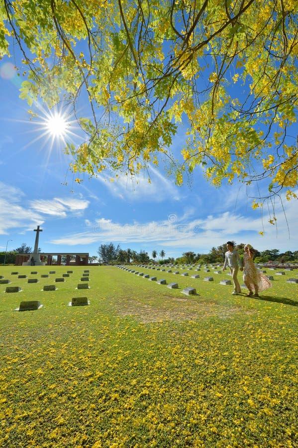 Labuan War Cemetery stock images