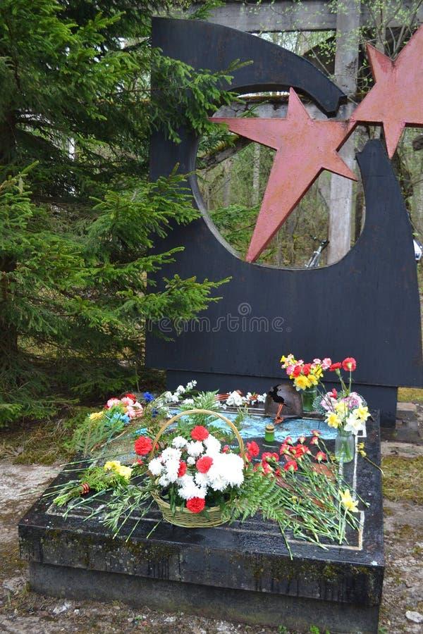 Download War Memorial In Leningrad Oblast Stock Photo - Image: 31209408