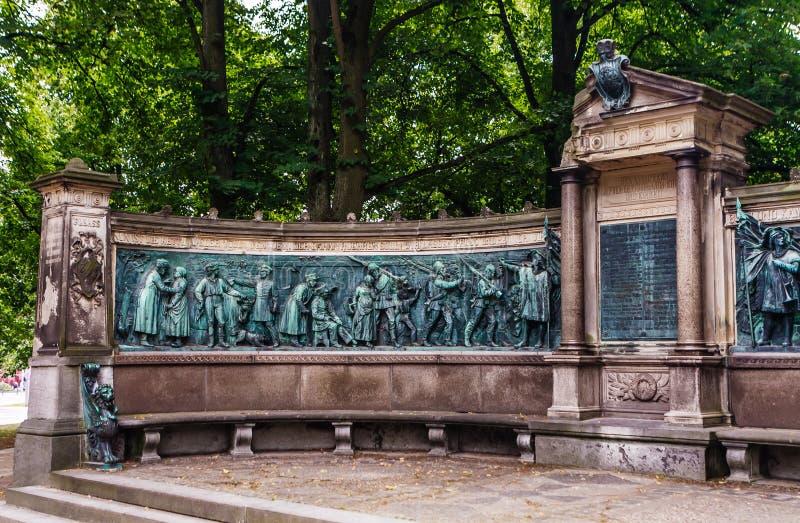 View Of War Memorial By Rudolf Siemering Franco Prussian War 1870