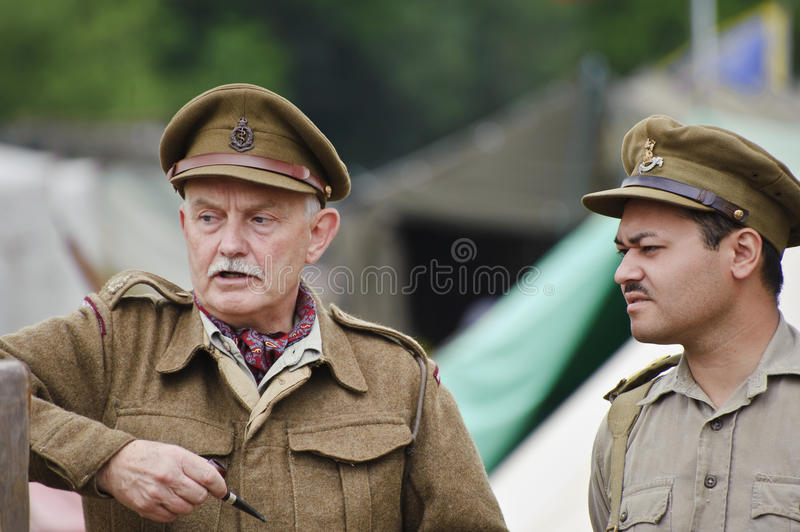 War And Peace Show 2011 Editorial Stock Photo