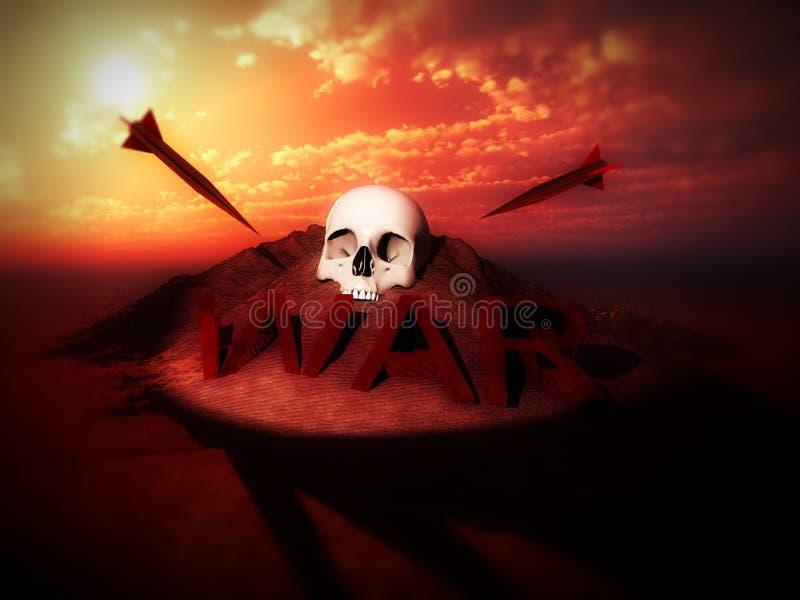 War Skulls 2 Royalty Free Stock Images