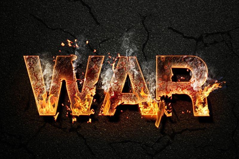 War text royalty free stock photos