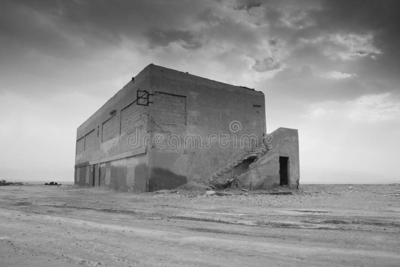War zone, Abandoned, Building, humanitarian crisis. Black and white stock photos