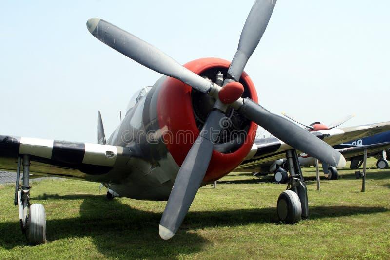 Warbird. P-47 Thunderbolt WWII Fighter Plane stock photos