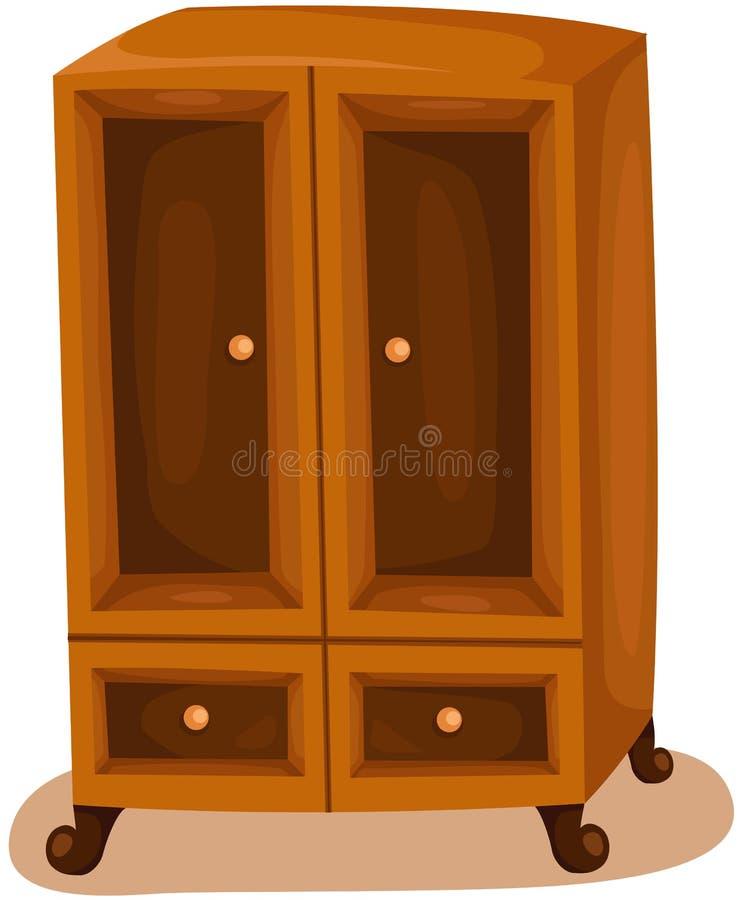 wardrobe ilustração stock