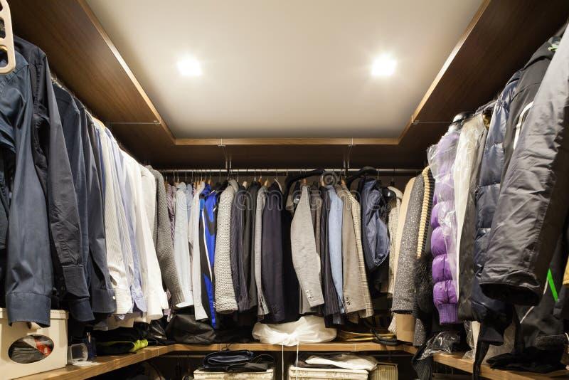 Wardrobe royalty free stock photo