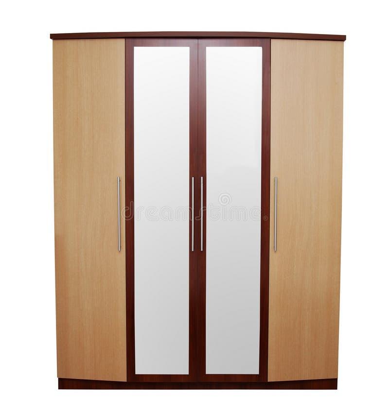 Free Wardrobe On White Stock Photo - 60052860