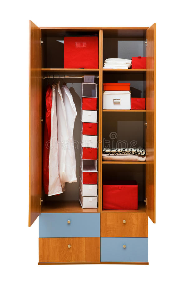 Free Wardrobe With Clothes Stock Images - 10295714