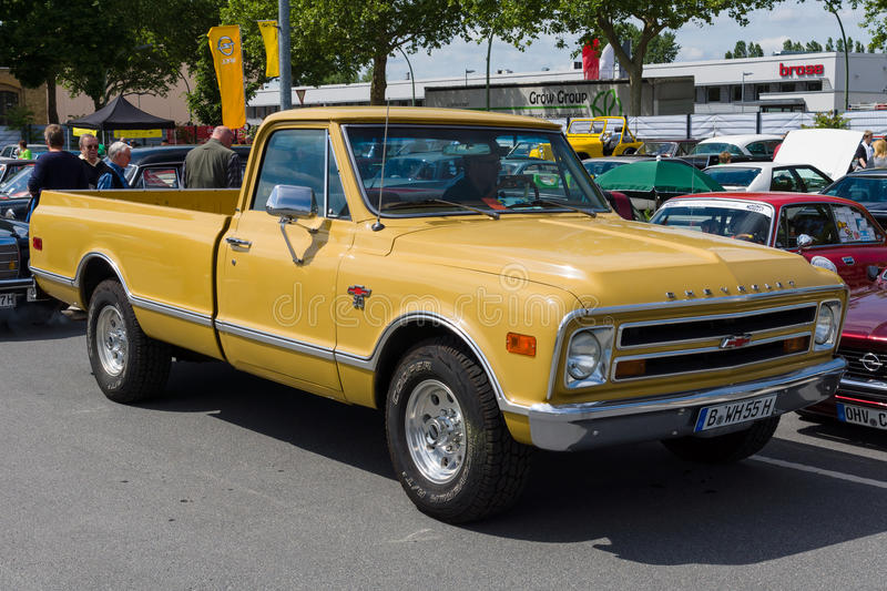 Ware groottepick-up Chevrolet C20 royalty-vrije stock fotografie