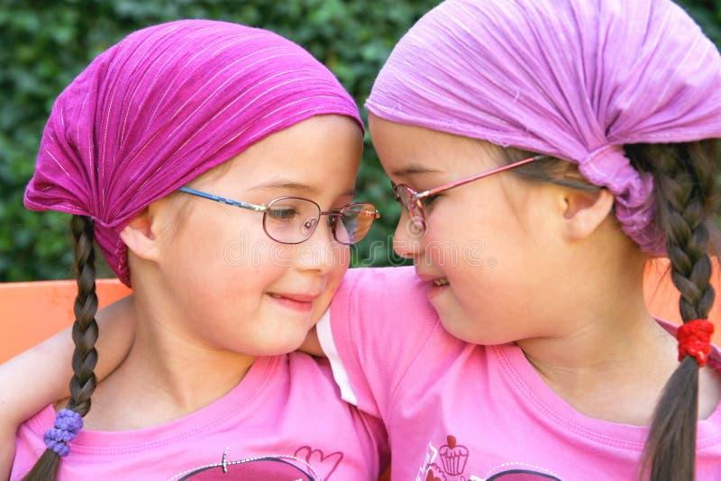 Ware tweelingen stock foto's