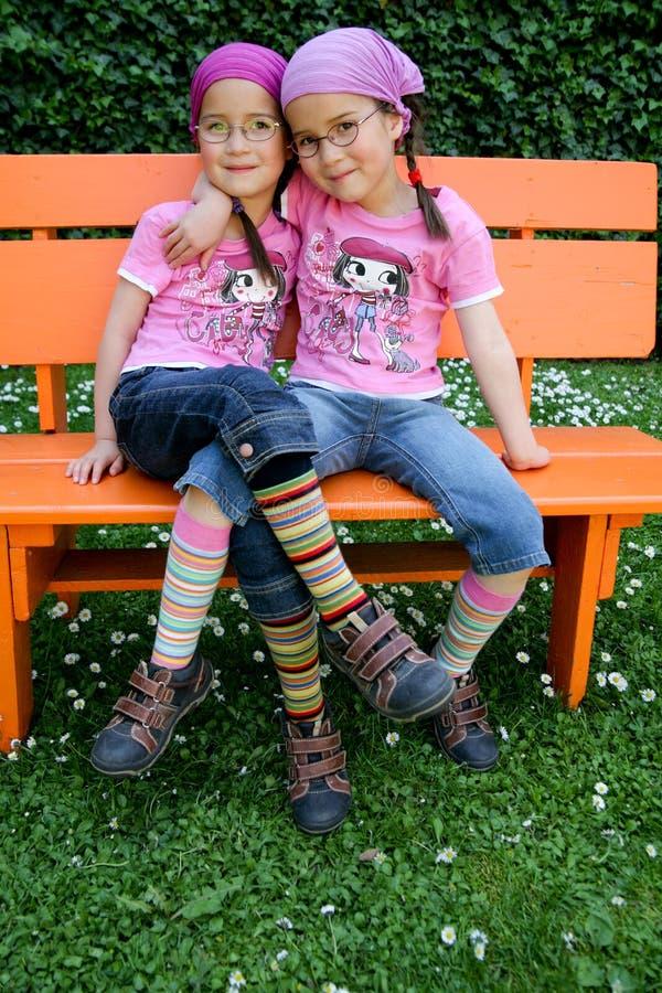 Ware tweelingen stock fotografie