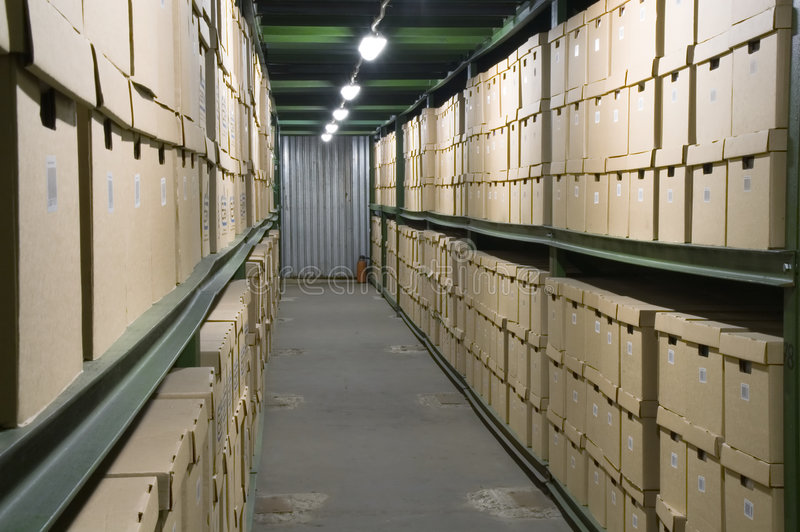 Download Warehouse. stock image. Image of business, goods, indoors - 1537759